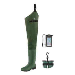 TideWe Hip Wader - Best Hip Waders for Fishing: Ground-gripping traction