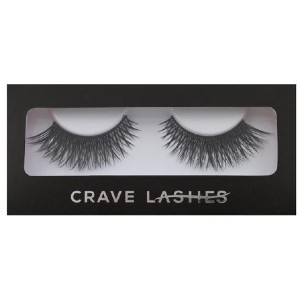 Crave Lashes TIRAMISU  - Best Lashes for Round Eyes: Sexy Dramatic Look