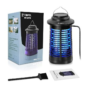 TOMPOL Bug Zapper  - Best Bug Zapper for Moths: No more bothersome insects