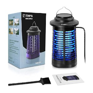 TOMPOL Bug Zapper - Best Bug Zapper for Outdoors: No more bothersome insects