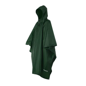 TOMSHOO Multifunctional Raincoat with Hood - Best Rain Jackets For Europe: Large Capacity and Easy to Wear