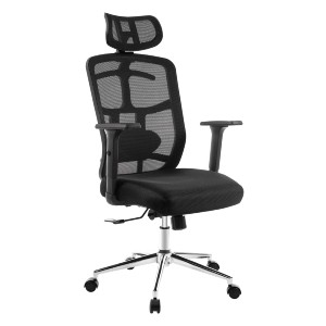 TOPSKY Store Office Chair Ergonomic Design - Best Office Chair for Sciatica: Adjustable Head and Lumbar Cushion