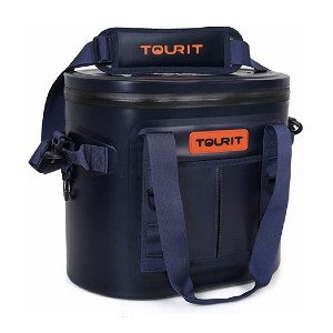 TOURIT Soft Cooler 20 Cans Cooler Bag  - Best Lunch Cooler for Construction Workers: Never experience leakage