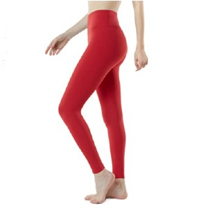 TSLA High Waist Yoga Pants with Pockets - Best Leggings with Tummy Control: Aerisoft Thick-Contour Design