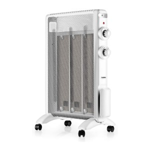 TURBRO Electric Mica Heater - Best Space Heater Quiet: Ideal quiet and warm heater