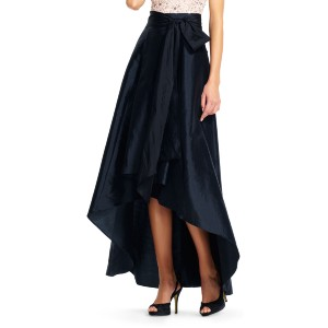 Adrianna Papell Taffeta High Low Ball Skirt - Best Skirts for Pear Shape: Versatile and Beautiful