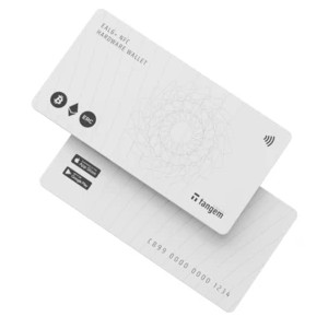 Tangem Card Pack - Best Hardware Wallet for Cryptocurrency: Easy-to-Use Card