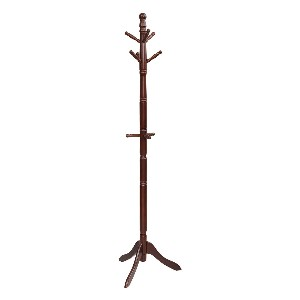 Tangkula Wood Coat Rack - Best Coat Rack for Small Spaces: Adds antique accents