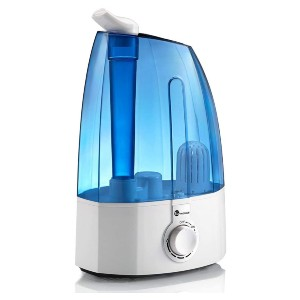 TaoTronics Humidifiers for Bedroom Home Baby - Best Humidifier for Dry Nose: Whisper-quiet operation humidifier