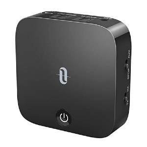 TaoTronics Bluetooth 5.0 Transmitter and Receiver - Best Bluetooth Audio Transmitters: Constant streaming and automatic re-pairing