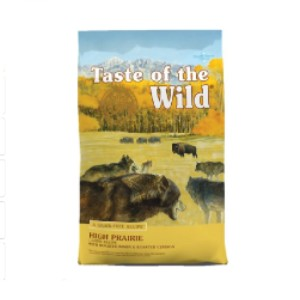 Taste of the Wild High Prairie Grain-Free Dry Dog Food - Best Dog Foods to Buy: Dog Food for Healthy Digestion