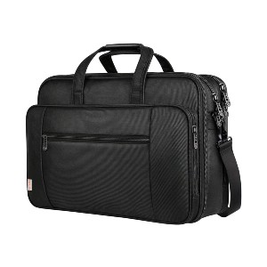 Taygeer 17 Inch Laptop Bag - Best Laptop Bags for Men: Multifunctional Zipper Compartments
