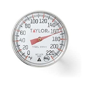 Taylor Precision Products Analog Meat Thermometer  - Best Internal Food Thermometer: Best for budget