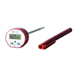 Taylor Precision Products Digital Instant Read Thermometer - Best Food Thermometer Amazon: Anti-microbial housing