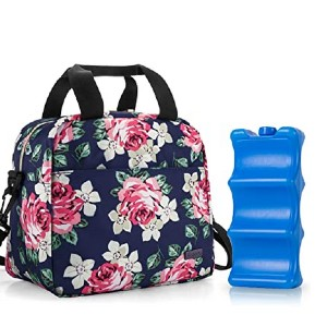 Teamoy Breastmilk Cooler Bag with Ice Pack - Best Cooler Bag for Breast Milk: Perfect for a full day's needs