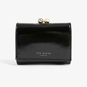 Ted Baker Suri mini leather bobble purse - Best Wallet for Women: Mini wallet to fold everything