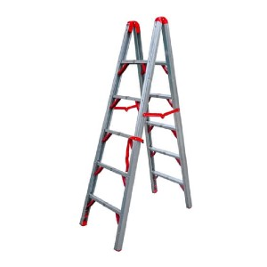 Telesteps Double Sided STIK Folding Step Ladder - Best Ladders for Home Use: Strong Aluminum Composition