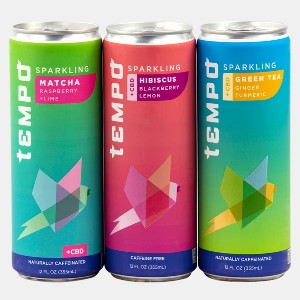 Tempo Variety Pack (6 Pk) - Best CBD Drinks for Relaxation: No Artificial Flavors Formulation