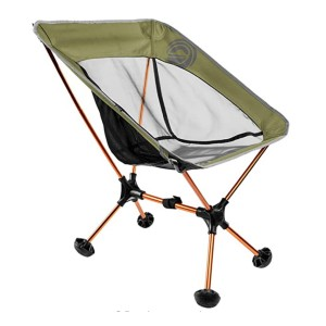 WildHorn Outfitters Terralite Portable Camp Chair - Best Folding Chair for Sports: Attach to your backpack