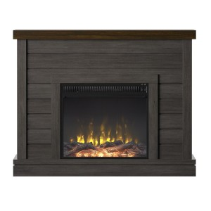 Laurel Foundry Modern Farmhouse® Terrence 47.38'' W Electric Fireplace - Best Electric Fireplace Under $500: Achieve your desired aesthetic