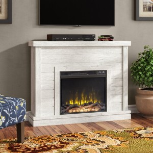 Laurel Foundry Modern Farmhouse® Terrence 47.38'' W Electric Fireplace - Best Electric Fireplace for Bedroom: Best customizable pick