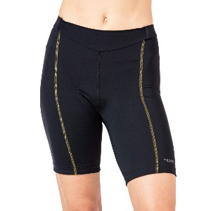 Terry Bella Short - Best Cycling Shorts for Long Distance: Contoured Waistband with An Elastic-free Front Yoke