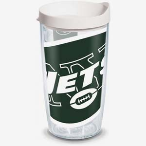 Tervis NFL New York Jets Colossal Tumbler - Best Tumbler for Cold Drinks: For die hard fan