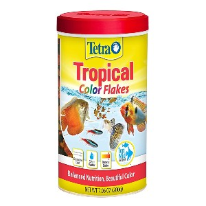 Tetra Tropical Color Flakes - Best Fish Food for Tropical Fish: For Active Fish