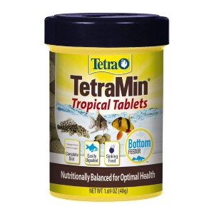 Tetra TetraMin Complete Diet Tropical Tablets - Best Food for Corydoras Catfish: Readily Digested Form