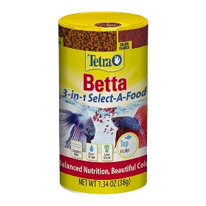 Tetra BettaMin Select-A-Food - Best Fish Food for Bettas: All in One Types of Food