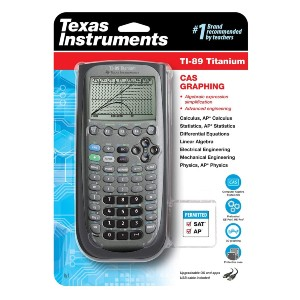 Texas Instruments TI-89 Titanium CAS Graphing Calculator - Best Graphing Calculator for Engineering: Split-Screen Capability