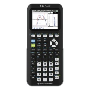 Texas Instruments TI-84+ CE Graphing Calculator  - Best Graphing Calculator for Finance: High-Resolution 16-Bit Color Screen