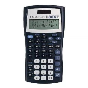 Texas Instruments TI-30XIIS Scientific Calculator  - Best Scientific Calculator for Secondary School: Simple Two-Line Display