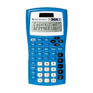 Texas Instruments TI-30XIIS Scientific Calculator - Best Scientific Calculator for Mechanical Engineering Students: Two-Line Display