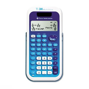 Texas Instruments TI-34 MultiView Scientific Calculator - Best Scientific Calculator for Mechanical Engineering Students: 4-Line Display