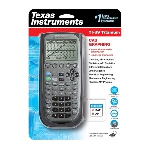 Texas Instruments TI-89 Titanium CAS Graphing Calculator - Best Graphing Calculator for Chemistry: 3-D Graph