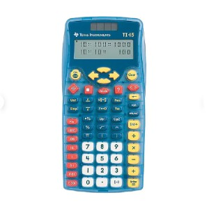 Texas Instruments Explorer TI-15 - Best Calculators for High School: Compare Numbers and Equations Including Inequalities
