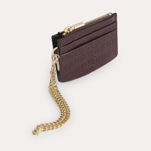 PEDRO Textured Leather Cardholder - Best Leather Card Holders: Embossed Calf Leather