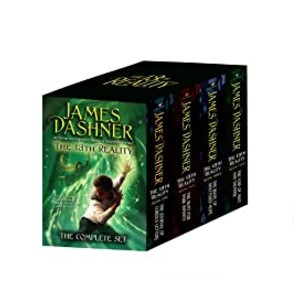 James Dashner The 13th Reality: The Complete Set - Best Fantasy Book Series of All Time: For sci-fi readers