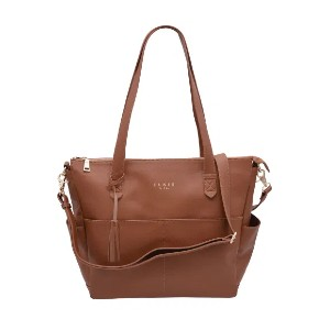 Elkie & Co. The Aberdeen - Best Tote Diaper Bags: Removable Interior Lining