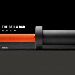 Rogue The Bella Bar 2.0 - Cerakote - Best Barbell for Home Gym: Non-slipping soft grip