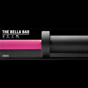 Rogue The Bella Bar 2.0 - Cerakote - Best Barbell for Crossfit: Non-slipping soft grip