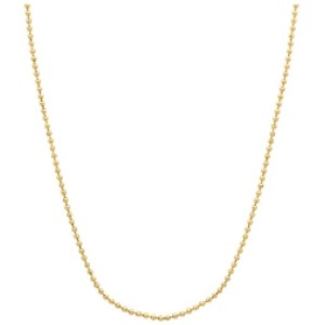 The Bling Factory Ball Chain Necklace - Best Chain Necklace: Durable Ball Chain Necklace