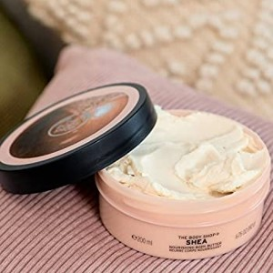 The Body Shop Body Butter Shea Creme - Best Body Butters for Black Skin: 48 Hours Intense Moisturization Butter