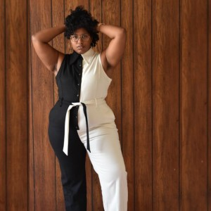 Fashion Brand company The Director Jumpsuit  - Best Jumpsuit for Plus Size: Sleek, elegant, and powerful look