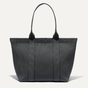 Rothy's The Essential Tote - Best Tote Bags for Women: Zipper Closure in a Warm Gold Finish
