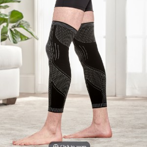 Hammacher Schlemmer The Full Leg Compression Sleeves - Best Full Leg Compression Sleeves: Provide Additional Support from Ankles to Thighs