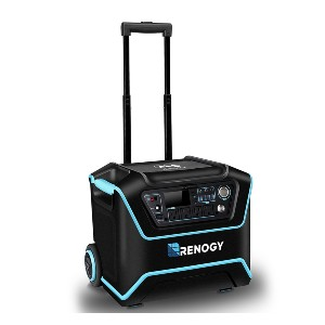 Renogy The Lycan Powerbox With Suitcases - Best Portable Power Station with Solar Panels: For long-term camping trips