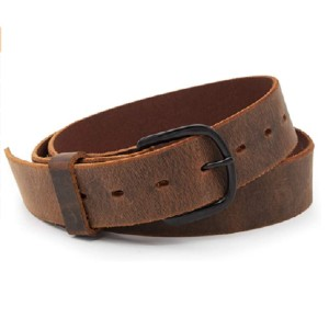 The Main Street Forge Store The Bootlegger Leather Belt - Best Belt for Fat Guys: Sturdy Belt