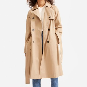 Everlane The Modern Trench Coat - Best Trench Coats for Petites: Relaxed Fit and Added Luxe